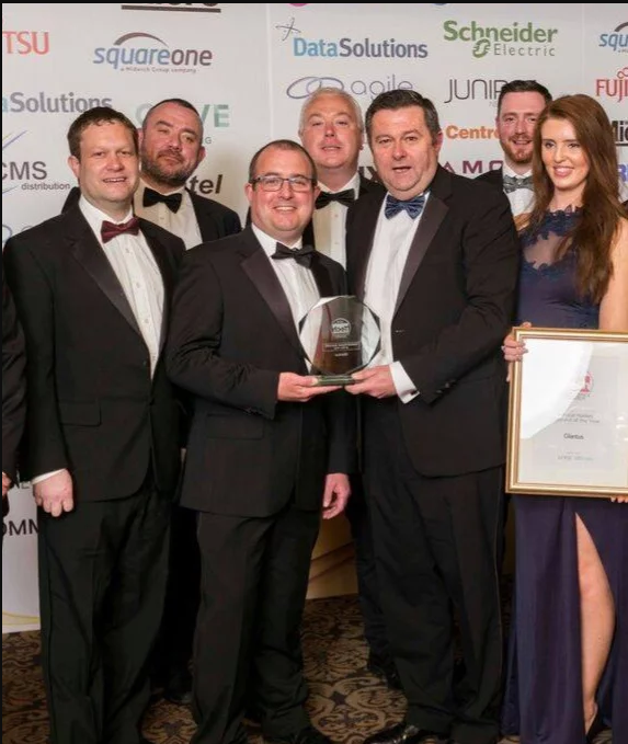evcoms Wins Top Industry Award With Partners Glantus